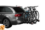 Thule VeloCompact 3 7-pin op auto