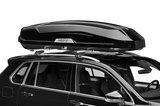 Hapro Trivor 640 - Brilliant Black - schuin op auto