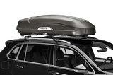 Hapro Trivor 640 - Supermatt Anthracite - schuin op auto