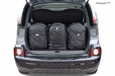 Citroën C3 Picasso vanaf 2008 | 3 autotassen | Kjust reistassen