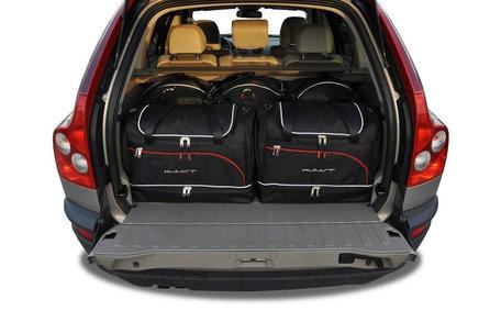 Volvo XC90 van 2002 tot 2014 | 5 auto tassen | Kjust reistassen