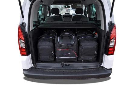 Peugeot Partner vanaf 2008   4 autotassen   Kjust reistassen