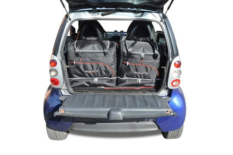 Kjust | Smart Fortwo | 1998 tot 2007 | 2 autotassen | Auto reistassen