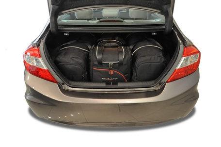 Kjust | Honda Civic Sedan | 2012 tot 2017 | 4 tassen | Auto reistassen