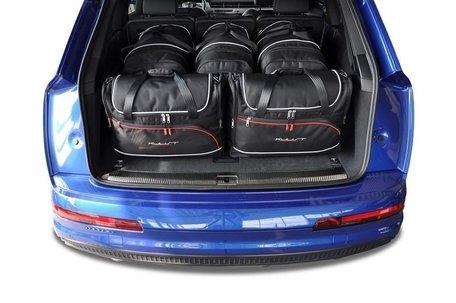 Audi Q7 vanaf 2015   5 auto tassen   Kjust reistassen