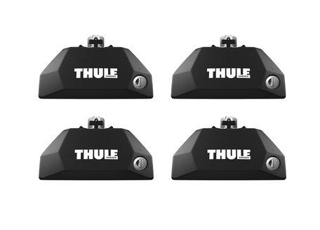 Thule Evo Flush Rail 7106 | Dakdrager voetenset | Geïntegreerde (dichte) railing