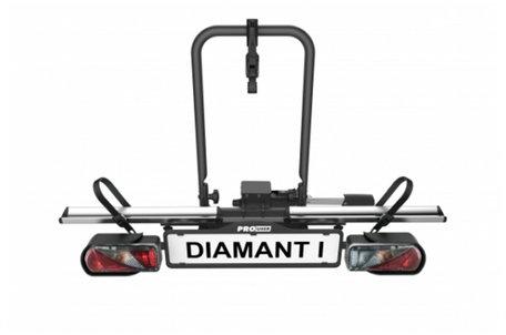 Pro User Diamant 1 (91756) | Trekhaak fietsdrager | 1 fiets
