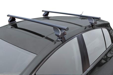 TwinnyLoad dakdragers | Toyota Yaris | 5-deurs vanaf 2011 | Staal