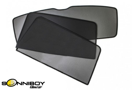 SonniBoy | Seat Leon 5-deurs | 2009 tot 2013 | Auto zonneschermen | CL 78208