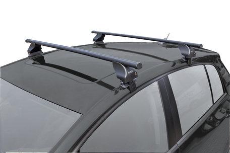 TwinnyLoad Dakdragerset S18 | Stalen dakdragerstangen | Volvo S40 van 2000 tot 2004