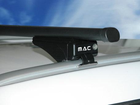 MAC Dakdragers Staal MAC5000S99 Volvo XC60 met gesloten reling vanaf 2008