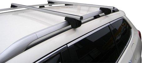 MAC Dakdragers Aluminium MAC5000A01 Dacia Logan MCV met reling
