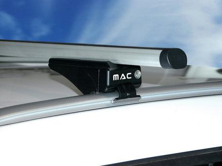 MAC Dakdragers Aluminium MAC5000A99 Fiat Panda met gesloten reling vanaf 2012