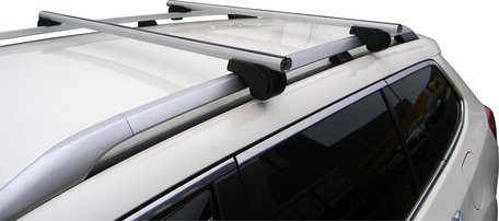 MAC Dakdragers Aluminium MAC5000A01 Mazda Demio met reling