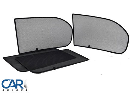 Car Shades | Volkswagen Polo 3-deurs | 2001 tot 2009 | Auto zonneschermen | PV VWPOL3B
