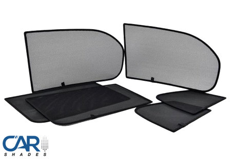 Car Shades | Renault Modus 5-deurs | 2004 tot 2012 | Auto zonneschermen | PV REMOD5A