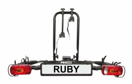 Pro User Ruby (91742) | Trekhaak fietsendrager | 2 fietsen