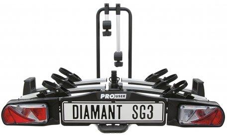 Pro User Diamant SG3 (91735) | Trekhaak Fietsendrager | 3 fietsen