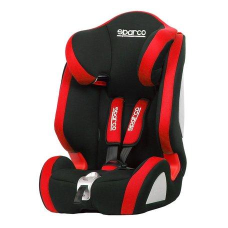 Sparco Kinderstoel | F1000K | Zwart/Rood