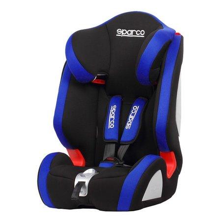 Sparco Kinderstoel | F1000K | Zwart/Blauw