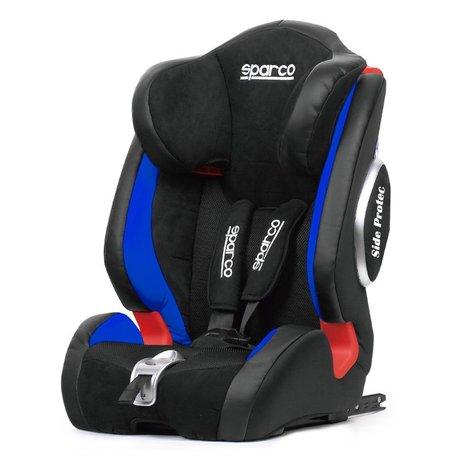 Sparco Kinderstoel (Isofix) | F1000KI | Zwart/Blauw