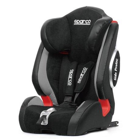 Sparco Kinderstoel (Isofix) | F1000KI | Zwart/Grijs