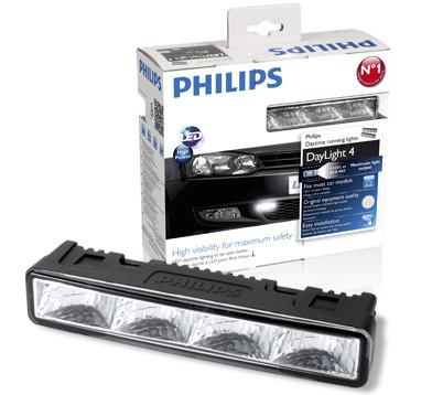 Philips DRL4 LED Daylight 4 Dagrijverlichtingset