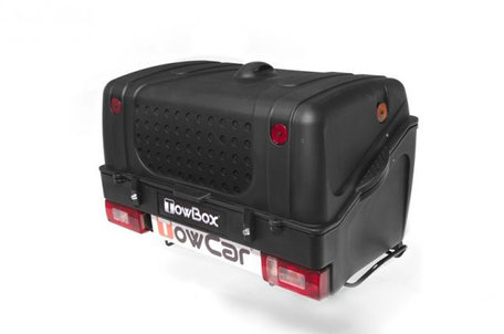 TowBox V1 | Trekhaakbagagebox | Black Edition
