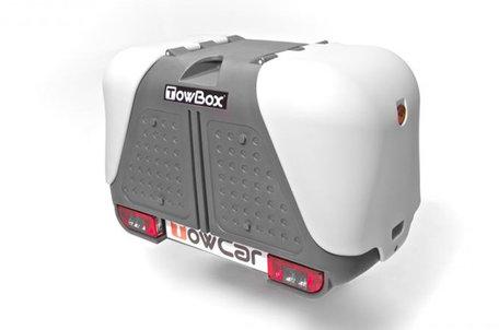 TowBox V2 | Trekhaakbagagebox | Grijs