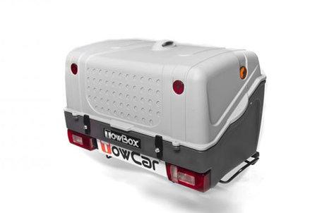 TowBox V1 | Trekhaakbagagebox | Grijs
