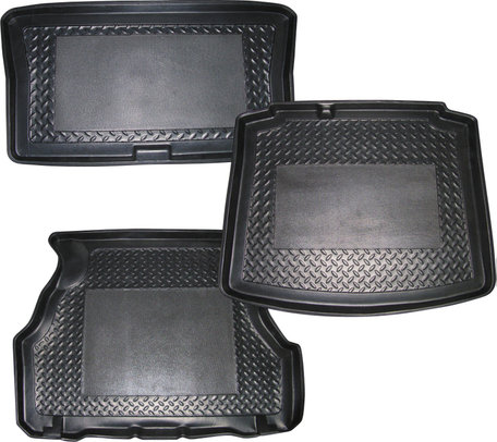 Kofferbakschaal met antislip gedeelte Mitsubishi Outlander  Rek Uitsparing Originele pasvorm