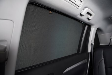 Trokot zonneschermen   BMW 5 Serie Touring (E61) 2003-2010 wagon   kwartramen