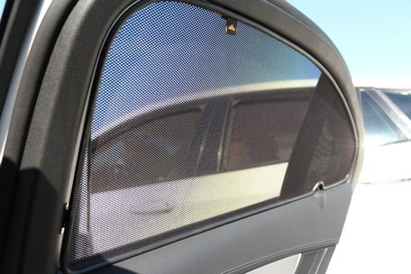 Trokot zonneschermen | Chevrolet Matiz (M100 - M150) 1998-2005 5-deurs hatchback | achterportieren