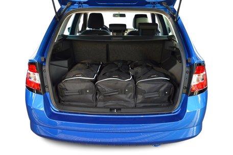 Reistassen set Skoda Fabia III combi (NJ) 2014-heden wagon
