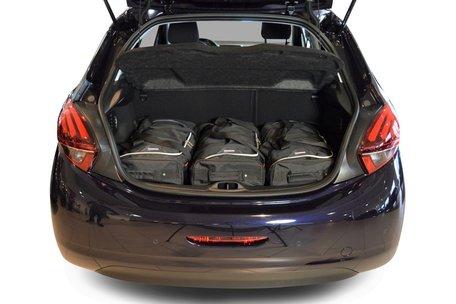 Reistassen set Peugeot 208 2012-2019 5-deurs hatchback