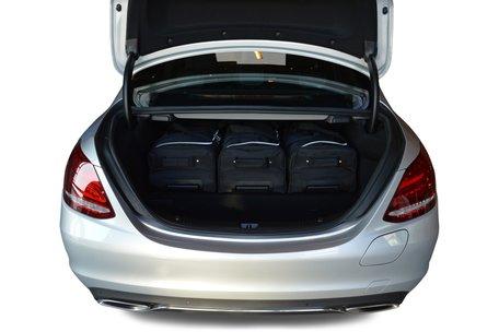 Reistassen set Mercedes-Benz C-klasse Plug-In Hybrid (W205) 2015-heden 4-deurs sedan