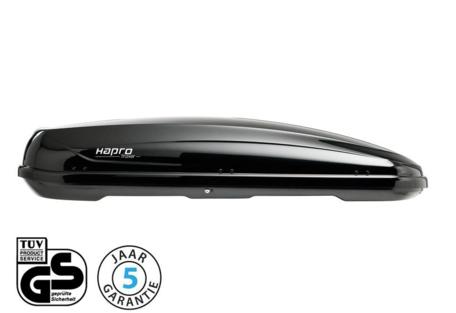 Hapro Traxer 8.6 dakkoffer Brilliant Black