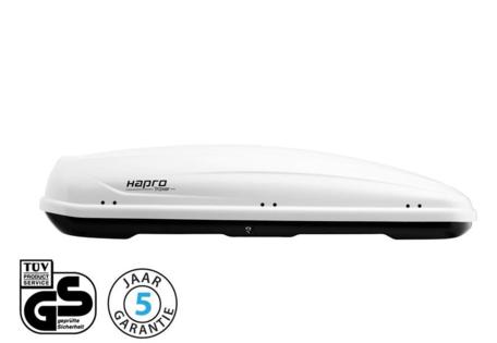 Hapro Traxer 8.6 dakkoffer Pure White