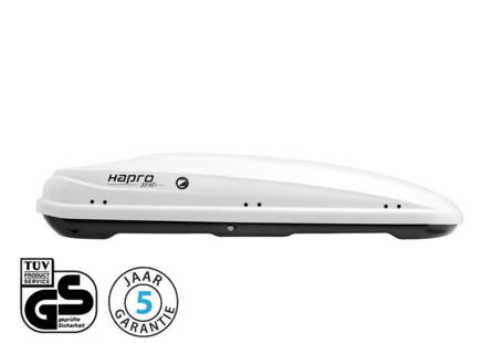 Hapro Zenith 6.6 dakkoffer Pure White