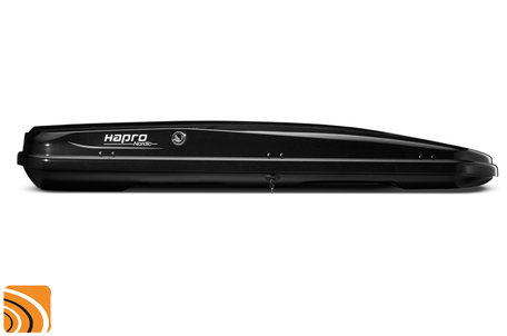 Hapro Nordic 10.8 | Brilliant Black | Dakkoffer - Skibox