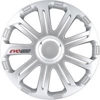 Wieldoppenset EVO Race | Zilver | 14 inch