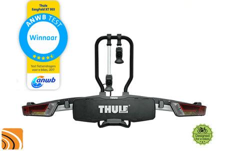 Thule EasyFold XT 2 (933) | Trekhaak fietsendrager | Testwinnaar