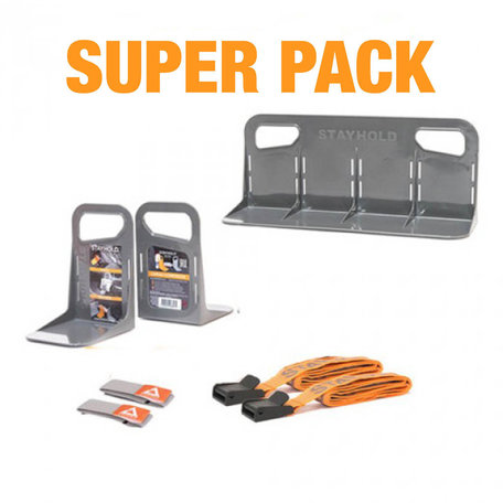 Stayhold | Super Pack | Kofferbakhouder set