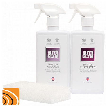 Autoglym Convertible Soft Top Clean & Protect | Complete set