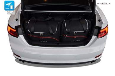Audi A5 Coupe II vanaf 2016   5 autotassen   Kjust reistassen