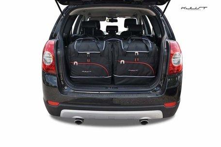 Chevrolet Captiva van 2006 tot 2010 | 5 auto tassen | Kjust reistassen