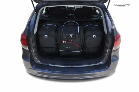 Chevrolet Cruze Kombi vanaf 2012 | 4 auto tassen | Kjust reistassen