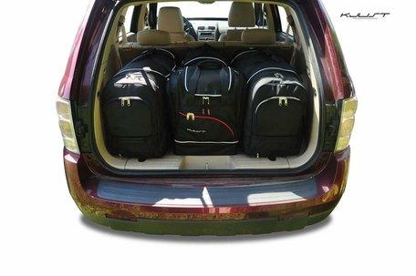Chevrolet Equinox LS van 2005 tot 2009 | 4 autotassen | Kjust reistassen