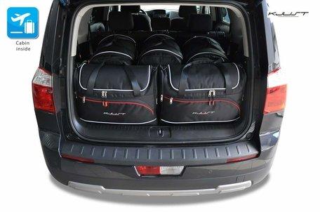 Chevrolet Orlando vanaf 2010 | 5 auto tassen | Kjust reistassen