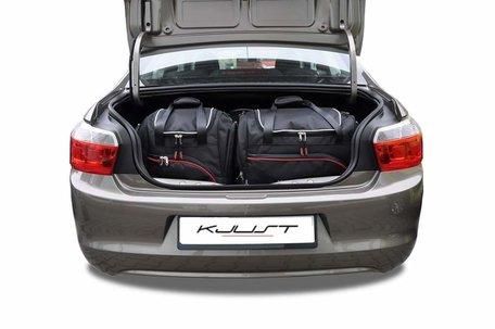 Citroën C-Elysee vanaf 2012   5 auto tassen   Kjust reistassen